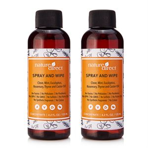 Picture of Nature Direct Spray and Wipe Concentrate - 125ml